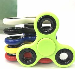 Discount mixed spinner - Mix color Fidget Spinner EDC Fidget Hand Spinners Torqbar Brass For Decompression Anxiety Finger Toys For Killing Time k