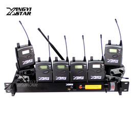 $enCountryForm.capitalKeyWord Canada - Professional Monitoring UHF Wireless In Ear Headphone Stage Monitor System One Cordless Transmitter & Ten Receivers Video Recording Studio