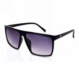 China Vintage Skull Stud Acetate Square Flat Top Sunglasses Polished Black Frame 65mm Lens Unisex Stylish Glasses Eyewear suppliers