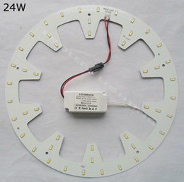 Großhandel Ersetzen Sie 50w Leuchtstoffröhre Diy Runde 24w Led Down Light  Kits Panel Pcb Led Disc Techo 2d Rundrohr 120 V 220 V 230 V 240 V Von  Proledlamps, ...