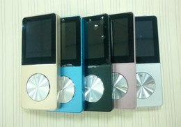 Wholesale Metal MP3 mp4 Player Built-in Speaker 8GB 1.8 Inch Screen Play 15 hrs can Support 32GB SD Card with FM Radio 1pc