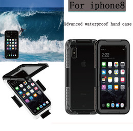$enCountryForm.capitalKeyWord Canada - Sealed Waterproof Cases Water Resistant Full Body Screen Protector Soft TPU Gel Front & Back Case For iPhone X