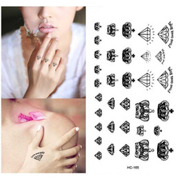 Diamond Crown Tattoo Canada Best Selling Diamond Crown Tattoo From
