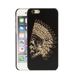 Rubber Coating Cover UK - U&I On Sales Black Rubber Coating Symmetry PC Back Cover Case for IPhone 5,6,6plus 4.0inches 4.7inches 5.5inches