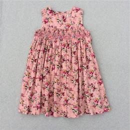 12552c323 Niñas Vestidos de flores para niña Nuevo modelo Niñas lindas Fiesta  Princesa niños coreanos Vestidos Niños Vestido estampado de flores 2017  Verano