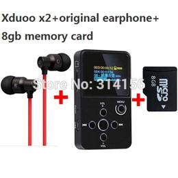 $enCountryForm.capitalKeyWord Canada - Wholesale- with 8GB TF card+original earphone,XDUOO X2 HIFI MP3 digital audio Music Player with OLED Screen Support MP3 WMA APE FLAC WAV
