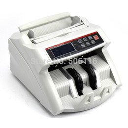 Wholesale Wholesale- 2200D Digital Display Money Counter Suitable for EURO US DOLLAR Bill Counter Cash Counting Machine