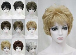 $enCountryForm.capitalKeyWord Australia - free shipping charming beautiful new Best Hot Sell! 2017 fashion women 9 Colour Short Straight Women Ladies Natural Daily Hair wig