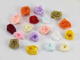 Applique fiore fatto a mano del tessuto online applique fiore