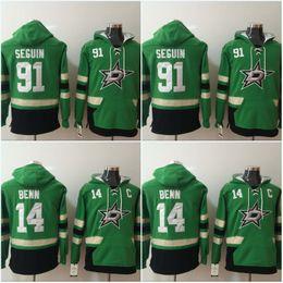 Dallas Stars Hoodie 91 Tyler Seguin 14 Jamie Benn Hockey Hoodies Jerseys  Sweatshirts For Men All Stiched IN STOCK 56d2965e8