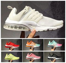Tamaño Olímpico Blanco Baratos-2017 Nuevo Air Presto Ultra Weaving Olympic Breathe Black Off White Sneakers Shoe 2018 Womens BR QS Sports Running Shoes Talla 36-39