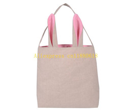 Gift baskets shipping online gift baskets free shipping for sale 20pcs lot free shipping 2016 newest cotton burlap easter gift bag tote jute easter bunny bags with bunny ears easter baskets negle Gallery