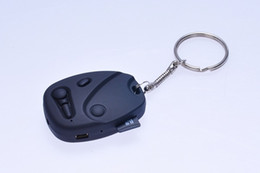 China HD 720P car key camera with keychain DVR pinhole camera covert mini audio video recorder Security & Surveillance Mini DV black cheap covert hd camera dvr recorder suppliers