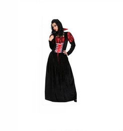 vampire costumes for women 2020 - Halloween costume fancy dress party costume for cosplay costume gorgeous vampire female clothing skirt of the girls disc