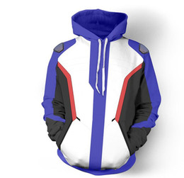 Geometric Hoodie Canada - Game watch Polyester Men's Hoodies Soldier 76 Jackets Cosplay Coat Sweatshirts Halloween Christmas Gift
