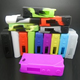 Watts bags online shopping - Sigelei W Silicon Case Sigelei W Mod Skin Bag Colorful Soft Silicone Sleeve Cover Skin fit Sigelei Watt TC Mod DHL Free