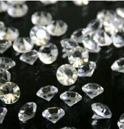 $enCountryForm.capitalKeyWord Canada - 10000pcs pack Transparent Wedding Decoration Crystals Acrylic Diamond Beads Table Confetti Party Supplies 4.5MM 6MM 8MM 10MM