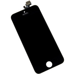lcd full UK - High quality LCD Display Touch Digitizer Complete Screen with Frame Full Assembly Replacement for iPhone 5 5S 5C With Free DHL Shipping