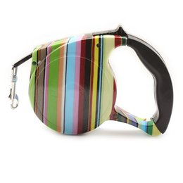 Chinese  armipet Stripes Pattern Automatic Dog Leash Lead Retractable Leashes For Dogs 6043029 Pet Collar Accessories 5 M manufacturers