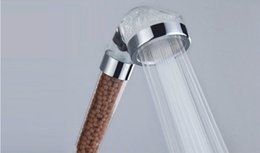 Spa Head NZ - Wholesale 6cm Handy Anion Bathroom Shower Heads Spa shower nozzle