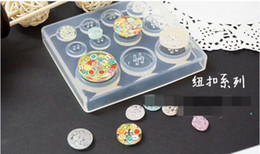 $enCountryForm.capitalKeyWord Canada - 1 Pcs Diameter of transparent DIY button Set Molds Jewelery Making Tools Epoxy Molded Jewelery