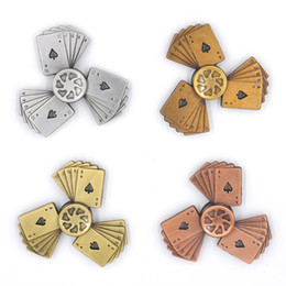 Chinese  2017 Hot Retro Metal fidget spinner Cent Lasting rotation Low noise High Speed Fine craft hand spinner manufacturers