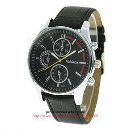 $enCountryForm.capitalKeyWord Australia - Wholesale Quartz Watch New Arrival 6 Colors Leather Belt Digital Watch Casual Alloy Wristwatch For Men