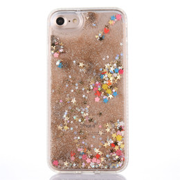 China 3D Creative Liquid Glitter Liquid Quicksand Bling flowing Floating Moving Shine Glitter Case for Apple iphone 6 6S 7 Plus with Diamonds supplier 3d moving cases for iphone suppliers
