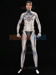 $enCountryForm.capitalKeyWord Canada - Game Genji Nihon Costume White Nihon Skin Cosplay Suit 3D Print Spandex Superhero Costume Custom Made For Male Female Kids Zentai Bodysuit