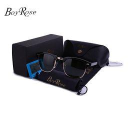BoyRose-52MM Occhiali da sole di alta qualità Occhiali da sole classici RAYS Uomo Donna Bans CAT EYE Brand Design Occhiali da sole Oculos de Sol Occhiali da sole in Offerta