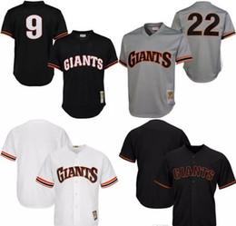 32f7d90bd ... Mens San Francisco Giants Throwback Jersey 9 Matt Williams 22 Will  Clark Cooperstown Collection Batting Practice .