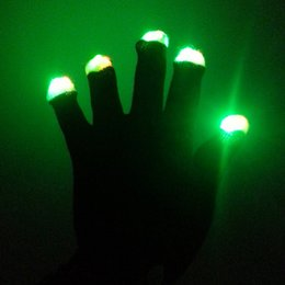 HigH quality masquerade costumes online shopping - Gleaming Gloves Creative LED Multi Function High Quality Christmas Birthday Party Masquerade Show Glove Hot Sale hg R