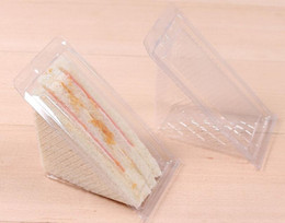 $enCountryForm.capitalKeyWord NZ - Free shipment blister sandwich packaging box clear cake box plastic sandwich packaging for cake shop
