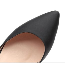 $enCountryForm.capitalKeyWord Canada - Shoot the lovers of the day bow tie black buckle high heels female fine with pointed spring 2017 new wild Korean sexy shoes