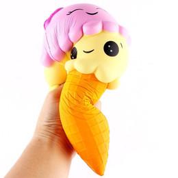 New Kawaii Squishy Big Ice Cream Squishies Slow Rising Phone Squishies Cute Squishies Jumbo Fidget Brinquedos Telefone Charms Gift