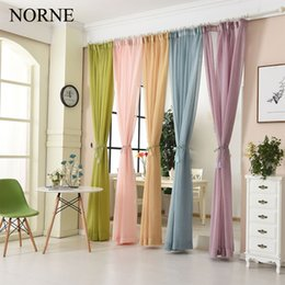 $enCountryForm.capitalKeyWord NZ - NORNE Modern Tulle Window Curtains For Living Room The Bedroom The Kitchen Cortina(rideaux)Duoli Soild Color Sheer Curtains Blinds Drapes