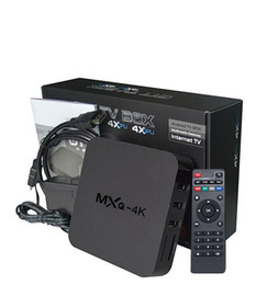 Chinese  Rockchip Android TV Box MXQ-4k RK3229 support H.265 4K 1080P HD Streaming Media Player TV Boxes manufacturers