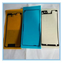 Xperia Z1 Housing NZ - 3PCS Set New Replacement Front Housing LCD Frame Adhesive Glue double side Sticker For Sony Xperia Z1 Compact Z1 Mini D5503 Free Shipping