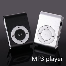 pink mp3 player 1gb 2019 - Wholesale- MP3 Music Media Mini Clip Metal USB Classic MP3 Player With Earphone Support Micro 108G SD TF Card Portable A