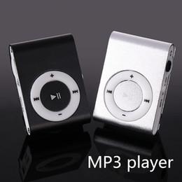 $enCountryForm.capitalKeyWord NZ - Wholesale- MP3 Music Media Mini Clip Metal USB Classic MP3 Player With Earphone Support Micro 108G SD TF Card Portable Audio Running Music