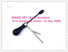 $enCountryForm.capitalKeyWord UK - 2019 Free shipping HIGH QUALITY NEW PRODUCT MAGIC KEY 18 for Serrature 6+6 (magnetic rotor)- 11 mm (NM) master key decoder locksmith tools