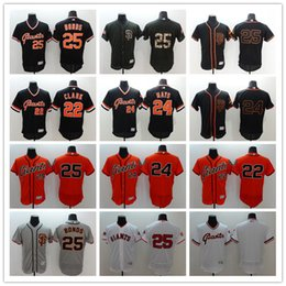 d45e044e ... San Francisco Giants Throwback Baseball Jerseys 25 Barry Bonds 24  Willie Mays 22 Clark Men All ...