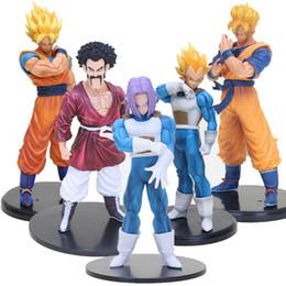 doll vegeta 2019 - 5pcs lot Dragon Ball Z Resolution of soldiers Son Goku gohan Vegeta trunks Hercule Mark pvc action figure toys model dol