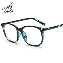 $enCountryForm.capitalKeyWord NZ - Yaobo 2017 fashion big glasses frame men women retro vintage decorative frames without lenses square glass frame oculos de grau