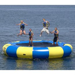 (Fachgeschäft) wasser trampoline 0.6mm PVC aufblasbare trampoline oder aufblasbarer prahler im freien spiel sommer wasser spielzeug wasserpark im Angebot