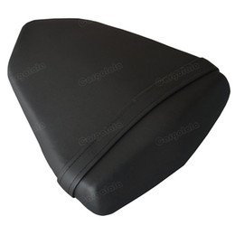 Motorcycles seat online shopping - Motorcycle Rear Seat Pillion Artificial Leather For Yamaha YZF R6 Black