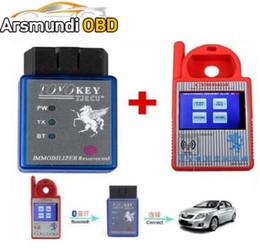 $enCountryForm.capitalKeyWord NZ - 2017new good Bluetooth Mini CN900 Transponder Key Programmer Plus TOYO Key OBD II Pro for 4C 46 4D 48 G H Chips Funtion For All Key Lost