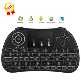 $enCountryForm.capitalKeyWord NZ - 2017 Latest P9 Fly Mouse 2.4GHz Wireless Mini Keyboard Touchpad Remote Controller Portable Game Handheld Better Than Rii i8