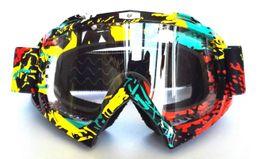 Профессиональные шлемы для мотокросса Очки для мотоциклетных шлемов Casco Велоспорт gafas fox Мотоциклетный шлем Мотоцикл capacetes очки FX01