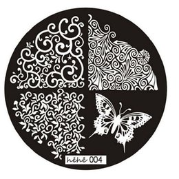 Chinese  Wholesale-Best Deal New Good Quality 2016 Butterfly Pattern Nail Art Image Stamp Stamping Plates Manicure Template Nail Art Tool 1PC manufacturers